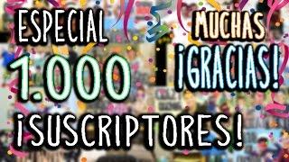 ESPECIAL 1000 SUSCRIPTORES | BLOOPERS Thumbnail