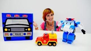 Щенячий патруль и Пожарный Сэм играют в кассу магазина 💰💳 #ПолныйПорядок Игра уборка! #робокарПоли