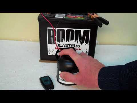 Cinematic War Horn Sounds Car Horn Wireless