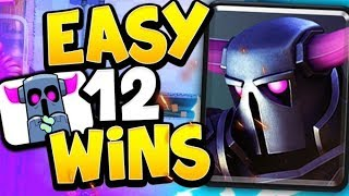 HOW TO WIN YOUR FIRST 12 WIN CLASSIC CHALLENGE in CLASH ROYALE!