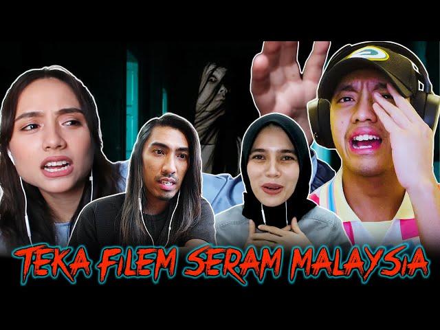 Teka Filem Seram Malaysia Bersama Ismail Izzani & Shalma Eliana [OB CHALLENGE]