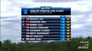 Jennifer Rosales 1st Rd Manulife Financial LPGA Classic 2014