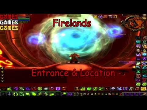 Firelands Raid Entrance & Location
