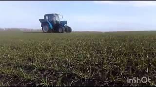 Мтз 82.1 Подкормка озимой пшениці !!!