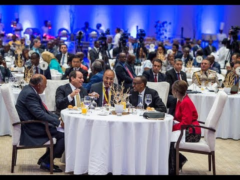 KAGAME  HOSTS  ABDEL FATTAH EL-SISI TO STATE BANQUET
