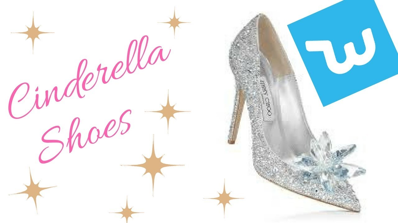 8186aa847a730 Jimmy choo Cinderella dupes Unboxing - YouTube