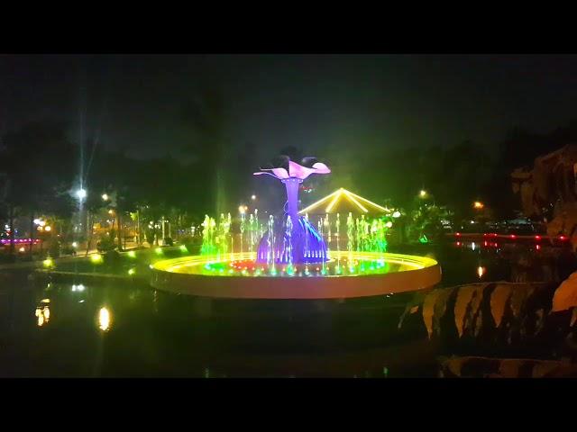 Nhạc nước công viên Bác Hồ - Tp. Sa Đéc - Đồng Tháp - Việt Nam Ơi