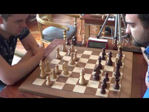 GM Vladimir Fedoseev - GM Igor Kovalenko, French defence, Rapid chess, PART I