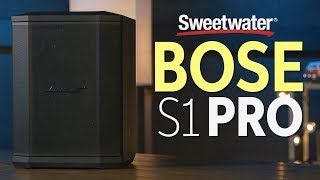 bose s1 pro multi position pa system review