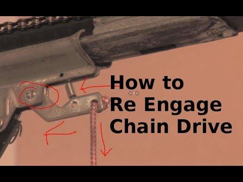 How to re engage garage door