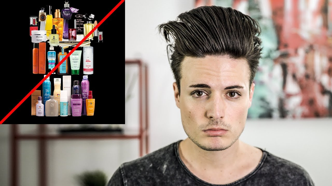 How to Have GREAT Hair with NO Hair Product | Mens Hair Tips 2017