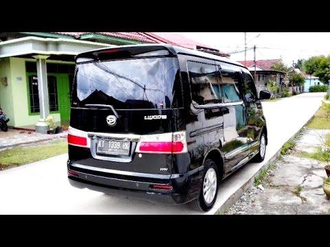 Dijual Mobil Daihatsu Luxio TipeX Tahun 2014 Hitam Samarinda HP085246902754