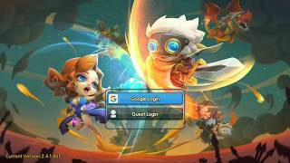 Best android strategy genre : Legend of Mighty Magic   First look and Game Play