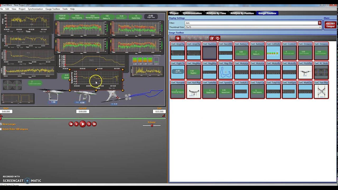 P3A/P Dashware profile for for Dat Files | DJI Phantom Drone Forum