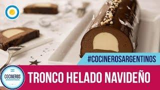 Tronco helado navideño | #CocinerosArgentinos