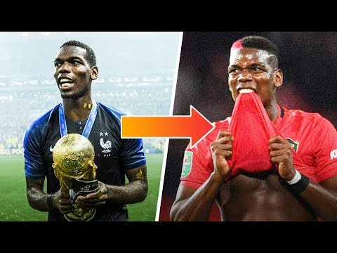 What the hell is happening to Paul Pogba?   Oh My Goal