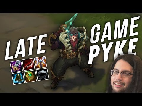 Imaqtpie - LATE GAME PYKE CAN CARRY?