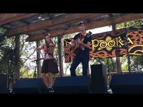 Austin Celtic Festival 2014, Óga: Hailey Sandoz & Joseph Carmichael performing Hobbit Set