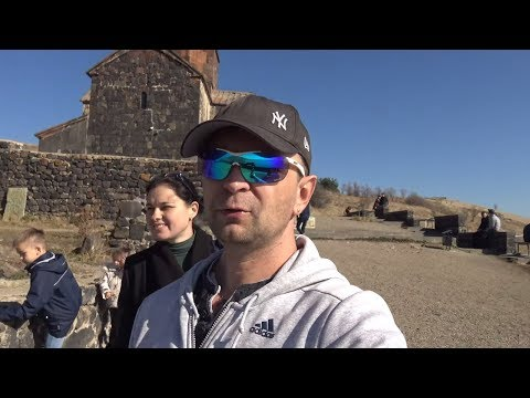 Москва-Грузия-Армения №23 Армения, оз  Севан. Граница Армения/Грузия
