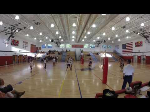 Sleepy Hollow JV Volleyball 9/15/16 Clip 1
