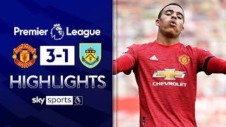 Greenwood hits brace & Cavani scores late 🔥| Manchester United 3-1 Burnley | EPL Highlights
