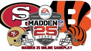 Madden 25 No Huddle Quitter Online Ranked Game 49ers VS Bengals