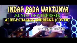 Aliefa Mau Nyanyi Lagu Bunda Dewi Perssik | Indah Pada Waktunya Aliefa (cover)