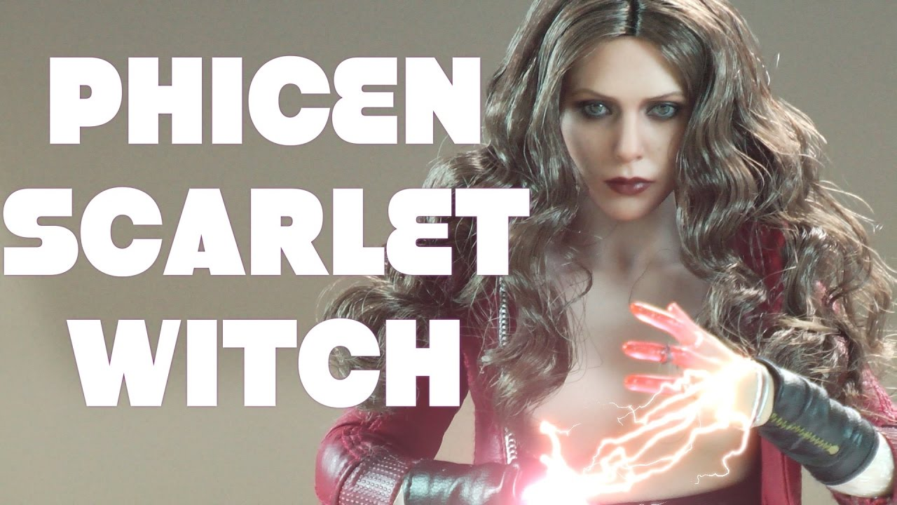 HOT TOYS SCARLET WITCH DRESS FOR TBLEAGUE PHICEN BRAND NEW