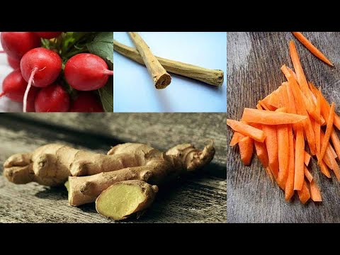 Mira lo que pasa si comes genjibre zanahoria papa y for Tipos de arboles y sus caracteristicas