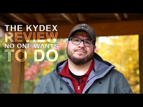 The Kydex Review No One Wants To Do