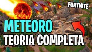 TUDO SOBRE A TEORIA DO METEORO EM TORRES TORTAS NO FORTNITE BATTLE ROYALE!