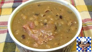 Southern Black Eyed Peas with Smoked Ham Hocks