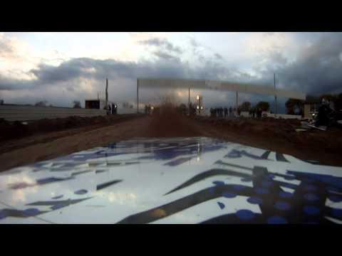 OSP Turbo Yamaha Viper Hastings Snowmobile Drag Race