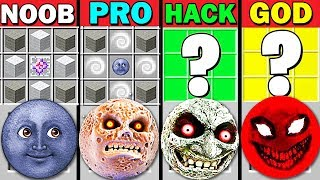 MINECRAFT BATTLE: CRAFT LUNAR MOON NOOB VS PRO VS HACKER VS GOD FUNNY MINECRAFT! PLANTS VS ZOMBIES