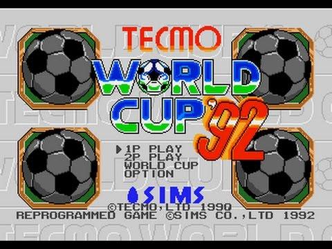 Mega Drive Longplay [437] Tecmo World Cup '92