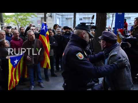 Spain: Tensions high as Catalan politicians appear before Supreme Court