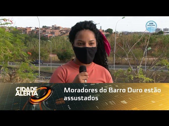 Moradores do Barro Duro estão assustados com onda de assaltos e violência