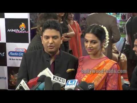Bhushan Kumar Wife Divya Khosla - Suron Ke Rang Color Ke Sang - Salaam Gulshan Kumar !!!