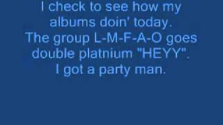LMFAO - Yes Lyrics