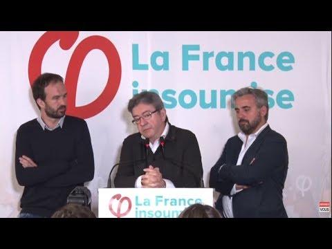 EN DIRECT - Conférence de presse de Jean-Luc Mélenchon - #ConfPresseJLM