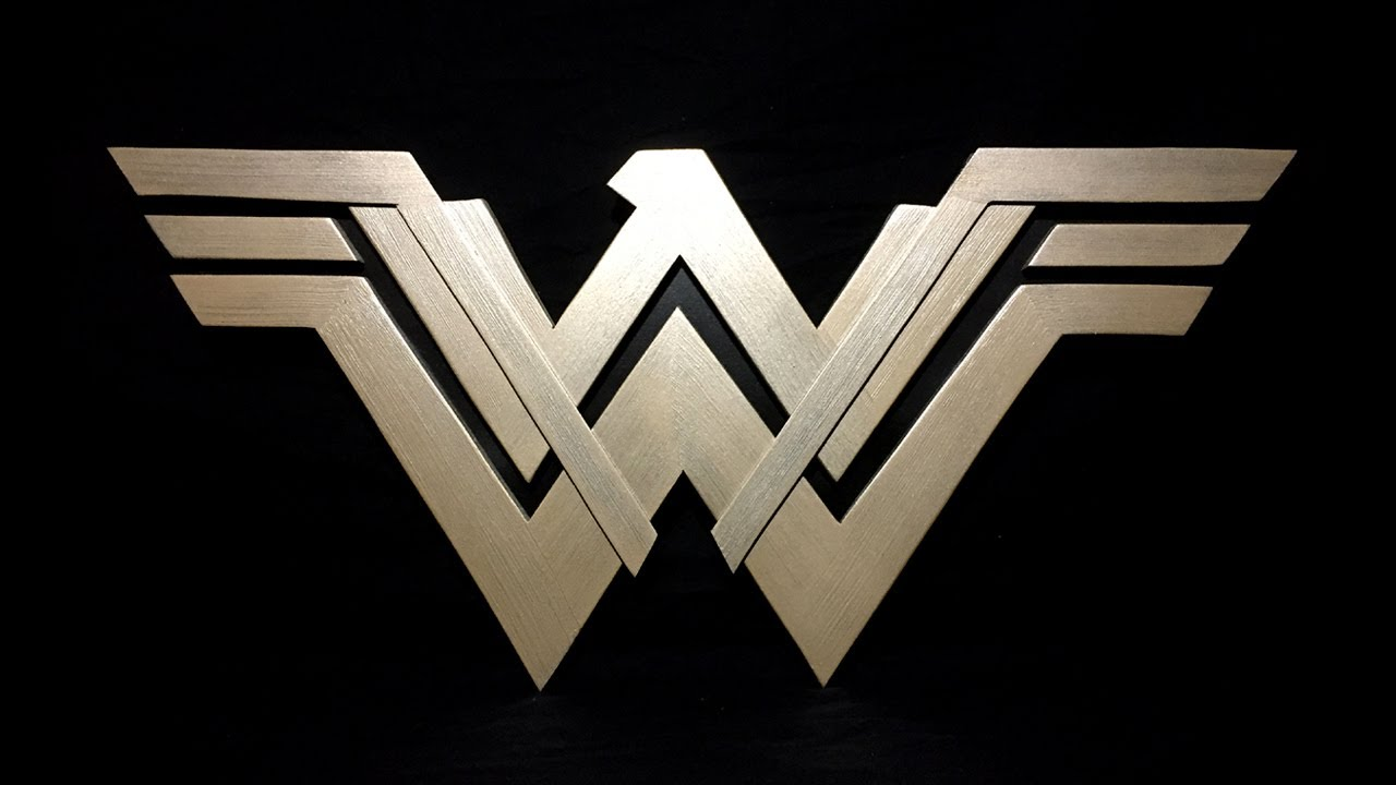 Wonder Woman Logo How To Limited Tools Project Youtube
