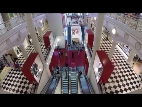 New York City Manhattan Mall walkthrough
