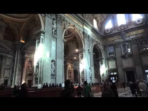 Inside Saint Peter