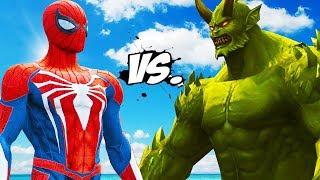 SPIDERMAN VS ULTIMATE GREEN GOBLIN - EPIC BATTLE