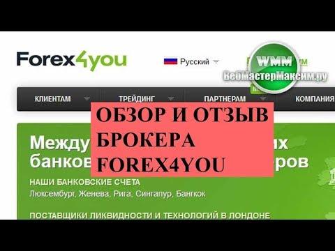 Форекс брокер Forex4you