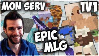 EPIC MLG sur Mon Serveur Minecraft! 🎮 Ranked 1v1 PvP & Uhc Rush Skyyart