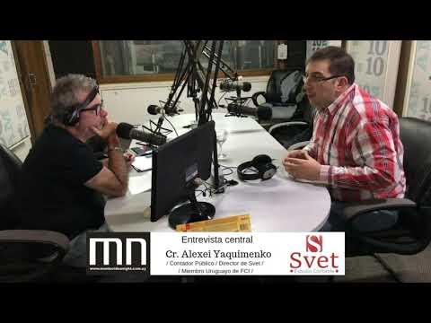 Entrevista al Cr. Alexei Yaquimenko en Montevideo Nigth Radio