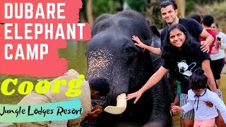 Dubare Elephant Camp Coorg | Jungle Lodges Resort | Must Visit Place in Coorg with Kids