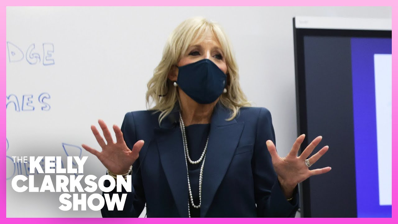 First Lady Jill Biden's Message To Teachers Struggling During Pandemic | Extended Cut