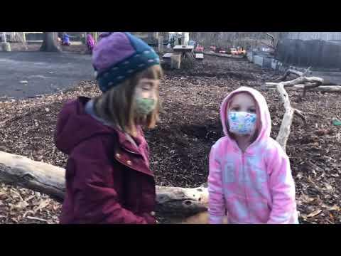 Take A Stroll Through the Outdoor Kindergarten Classrooms at Mountain Laurel Waldorf School